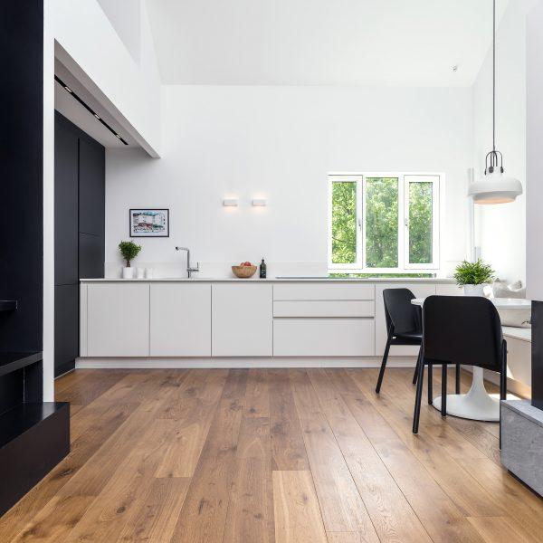 Eikeparkett Skovin Barn i moderne hjem