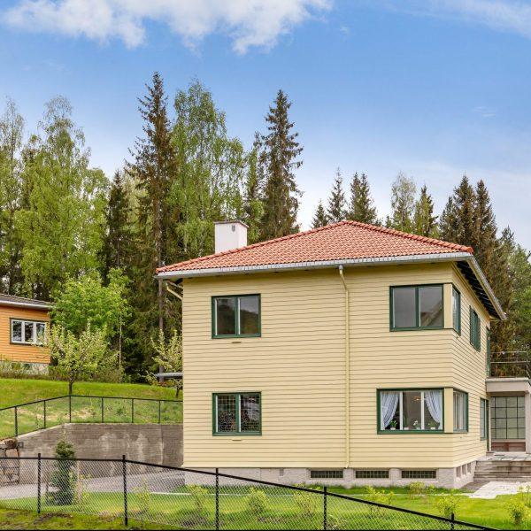 Gulv fra Skovin brukt til å restaurere dronning Sonjas barndomshjem på Maihaugen